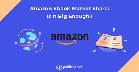 Amazon ebook market share with PublishDrive