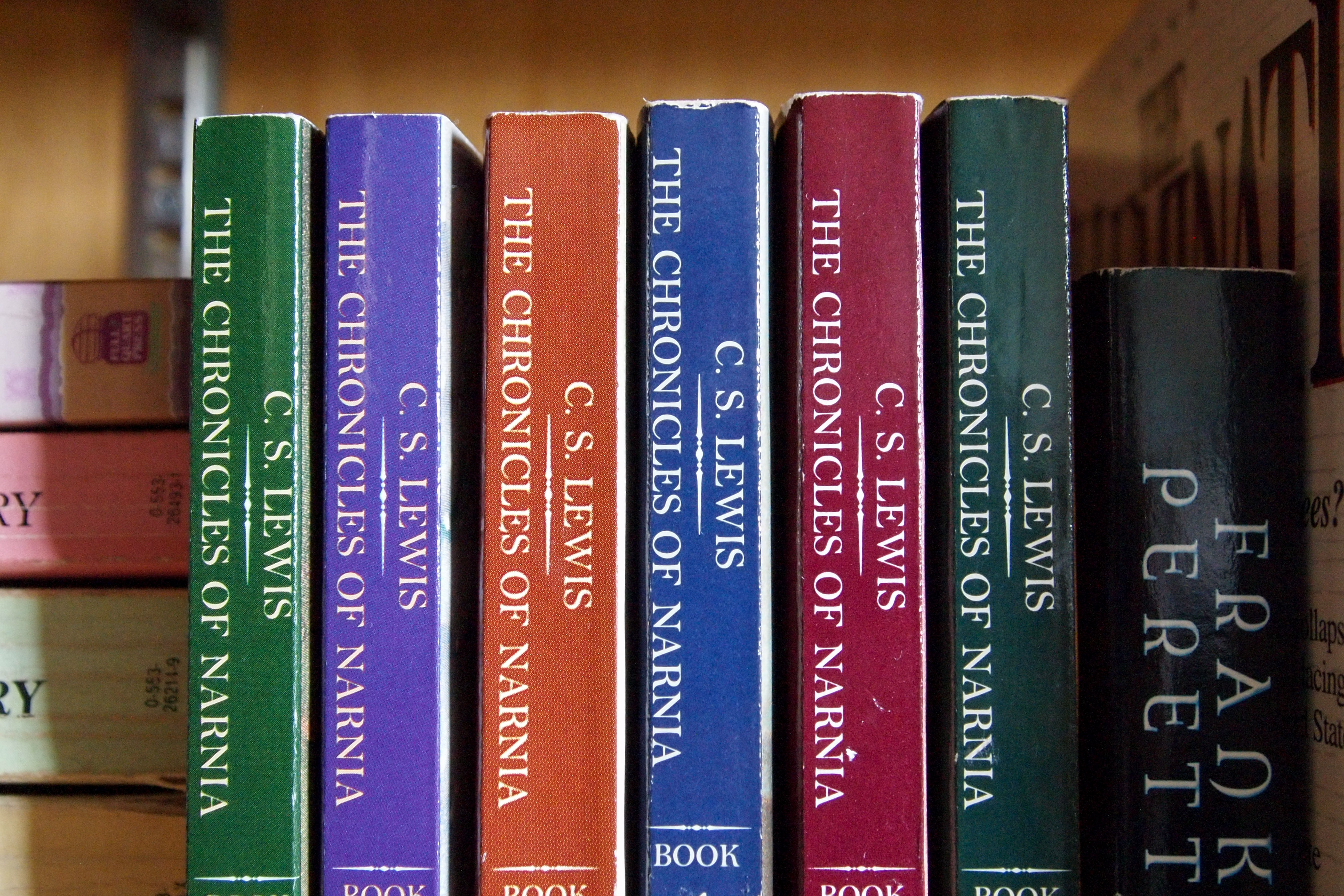 The Chronicles of Narnia books