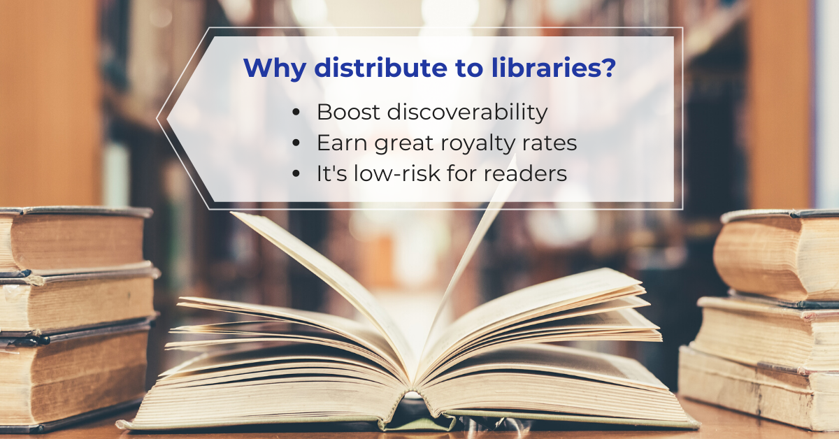benefits of library distribution for self published authors