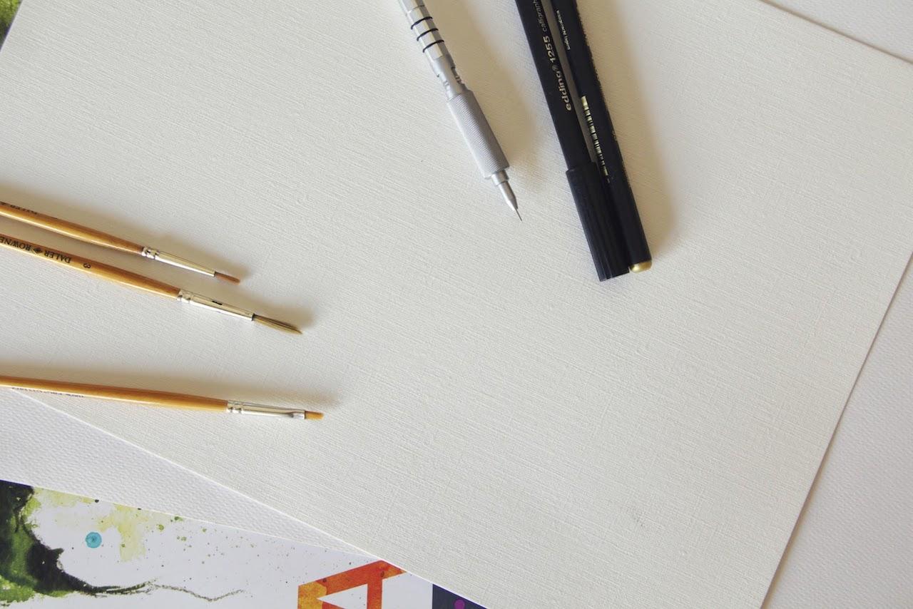 drawing tools illustration
