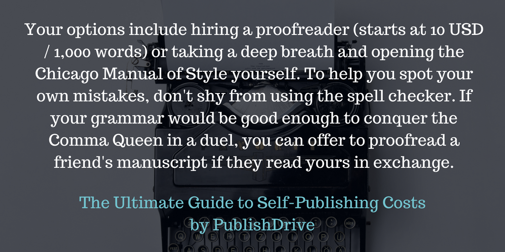 The Ultimate Guide to Self-Publishing Costs