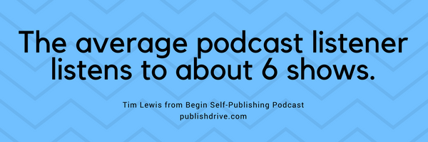 self publishing podcasts