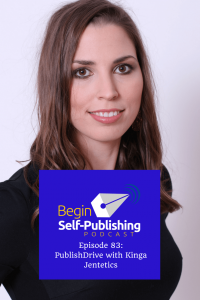 Kinga Jentetics CEO of PublishDrive on Self Publishing podcasts