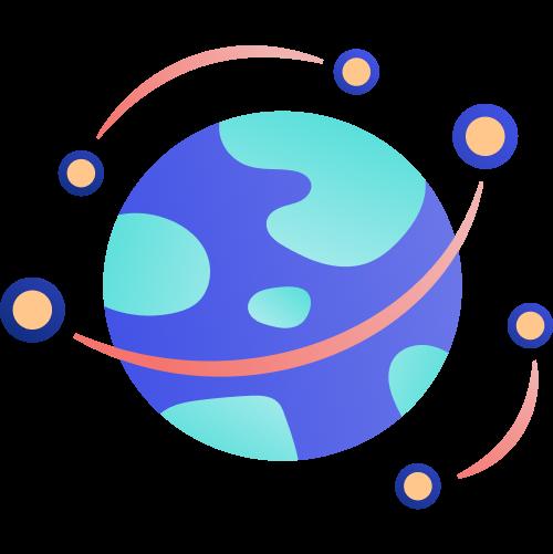 PublishDrive global distribution illustration