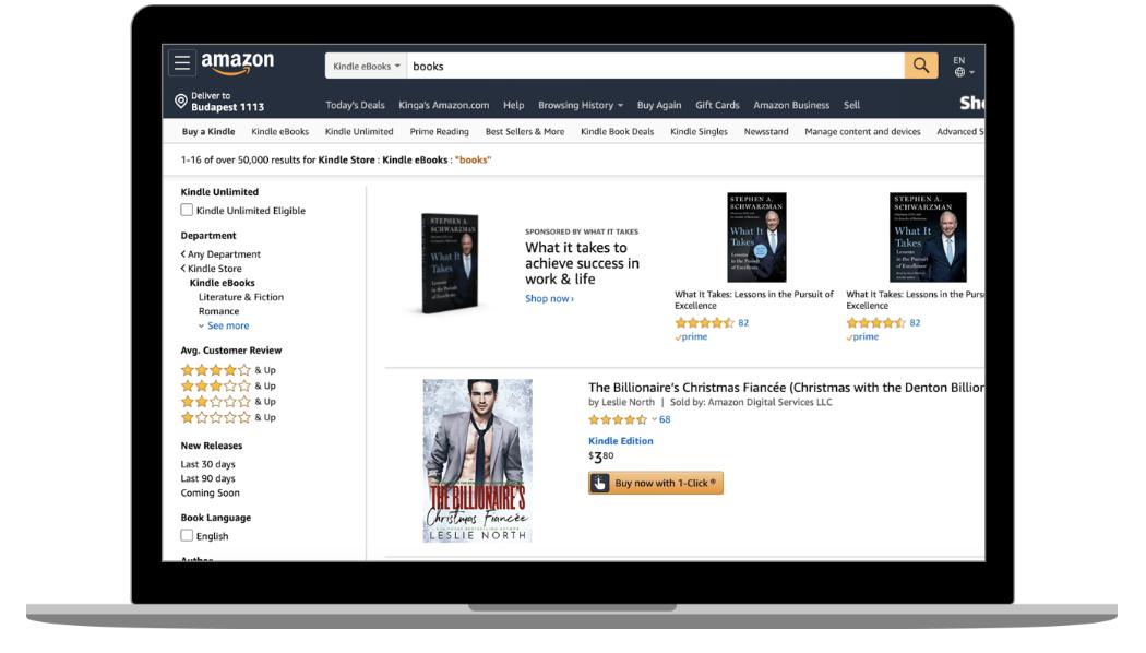 Amazon.com books website