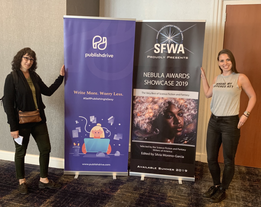 publishdrive team at 2019 nebula conference