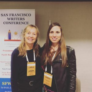 Carla Kinga and Kinga Jentetics at Publishing Options Panel at SFWC
