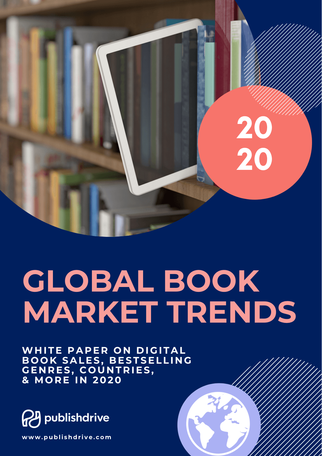 PublishDrive global book market trends white paper free download