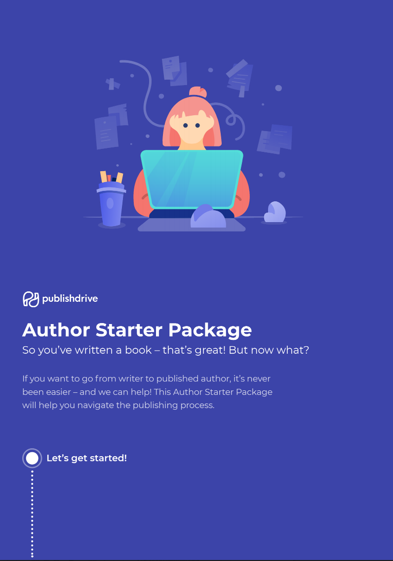 PublishDrive author starter package free download