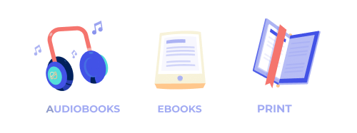 PublishDrive allows you to publish your book in ebook, audiobook or print format