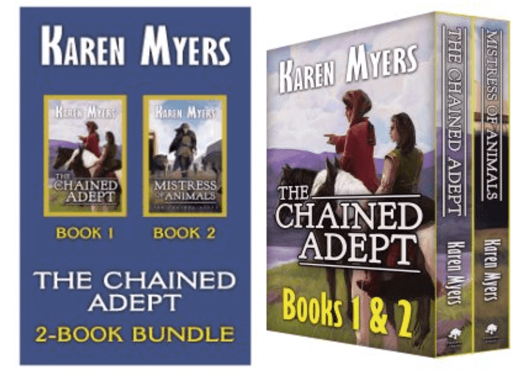 Use 3D images to showcase book bundles