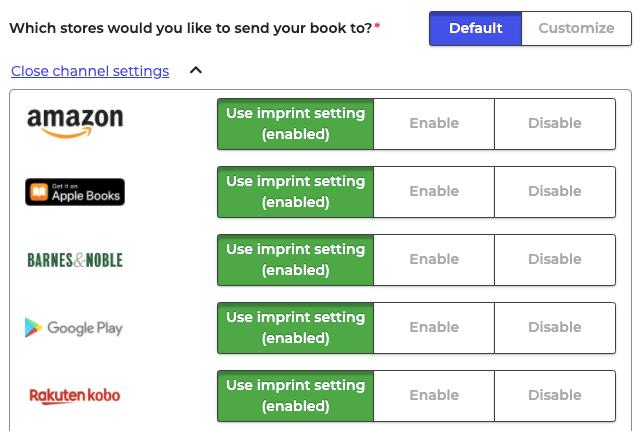 PublishDrive distribution includes thousands of stores