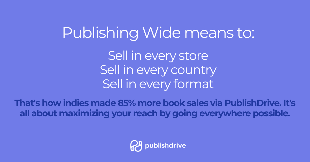 Publish wide with free self publishing services