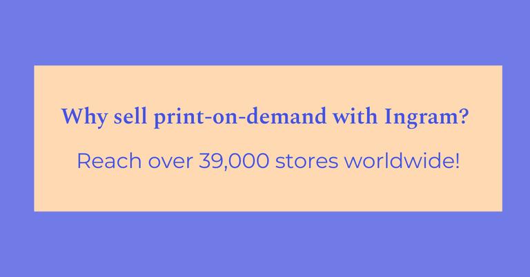 Ingram: Sell Online Print-On-Demand Books