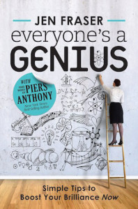 Everyone's a Genius - ebook cover that increases ebook sales