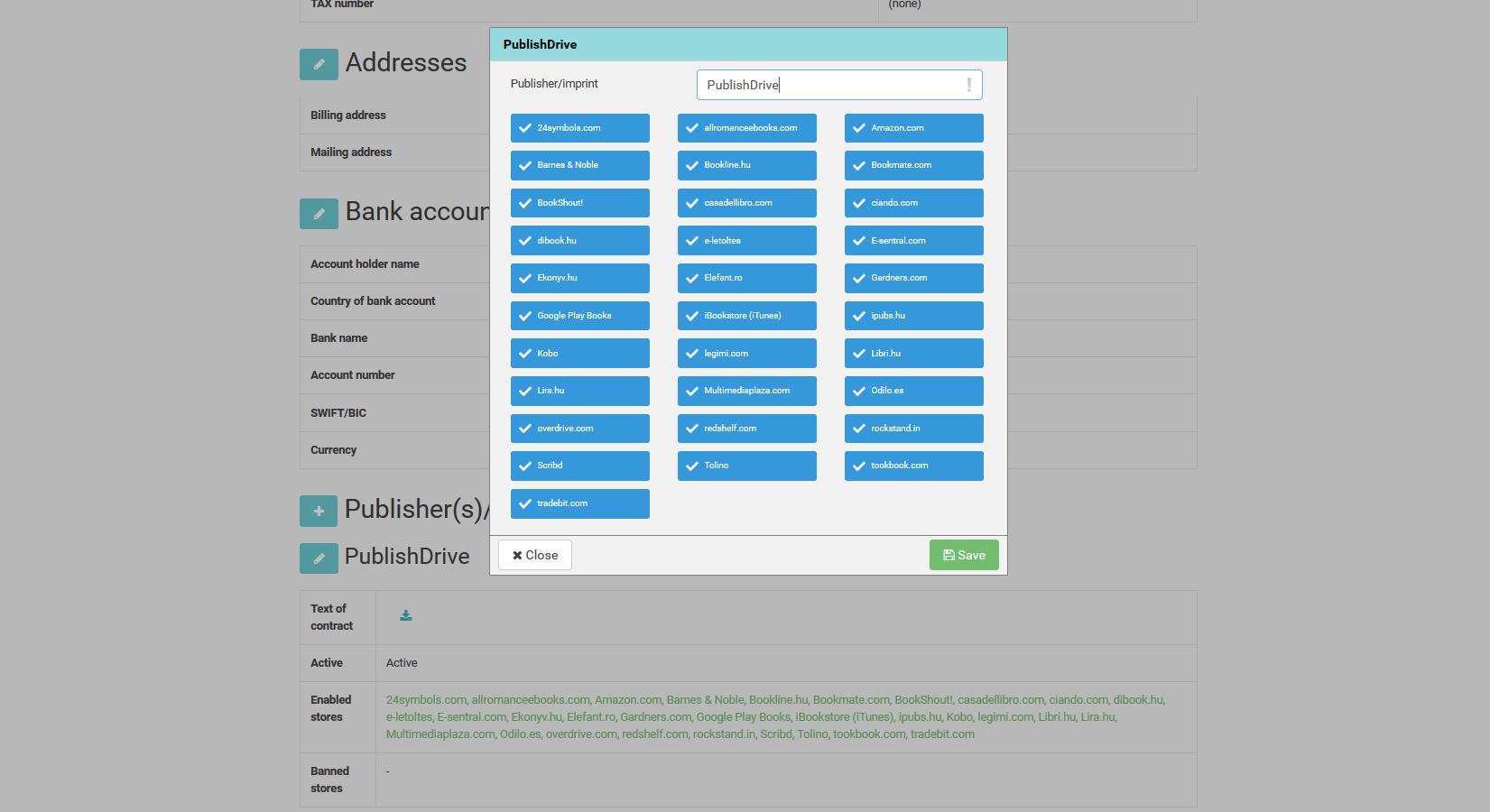 publishing platform