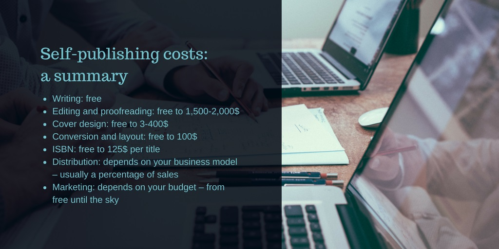 Self publishing costs 2018 the ultimate guide is it truly free self publishing costs fandeluxe Gallery