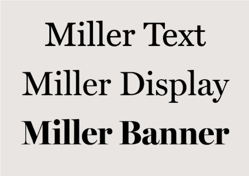 Book font sizes