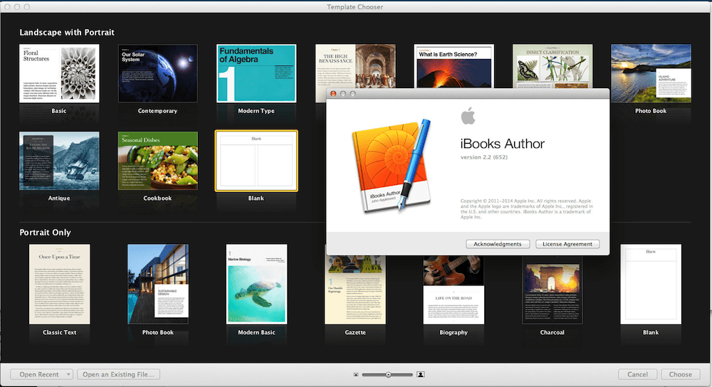 publishing with iBooks author app
