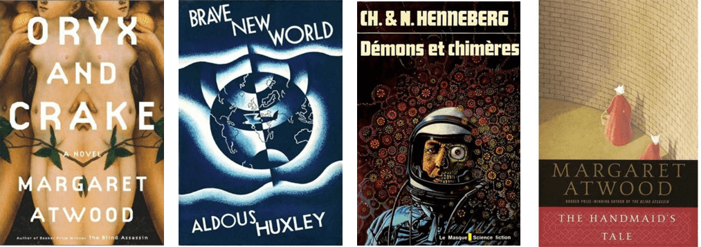 Sci-Fi Book cover font good examples