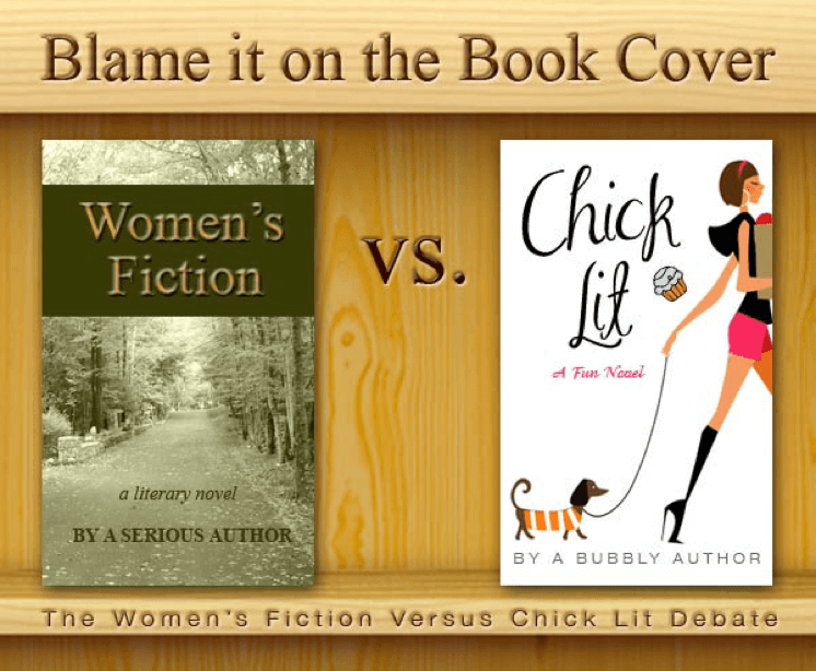 Women's fiction versus chick lit style books