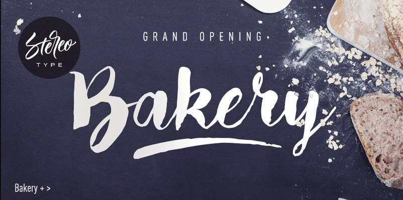 Bakery font, ideal for books for 8-9 year olds