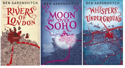 Ben Aaronovitch fantasy book series covers