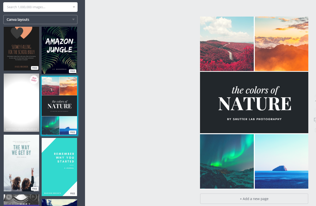Create Ebook Cover With Canva