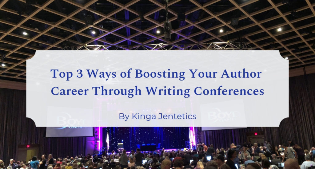 Top 3 ways of boosting author career with writing conferences