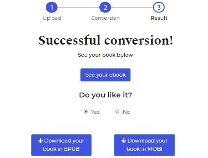 free ebook conversion 2