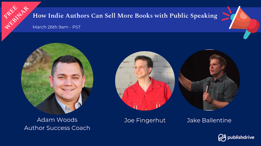 Public Speaking Webinar for Authors