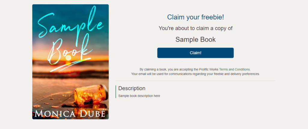 How to Set Up a Mailing List for Authors Freebie Landing Page