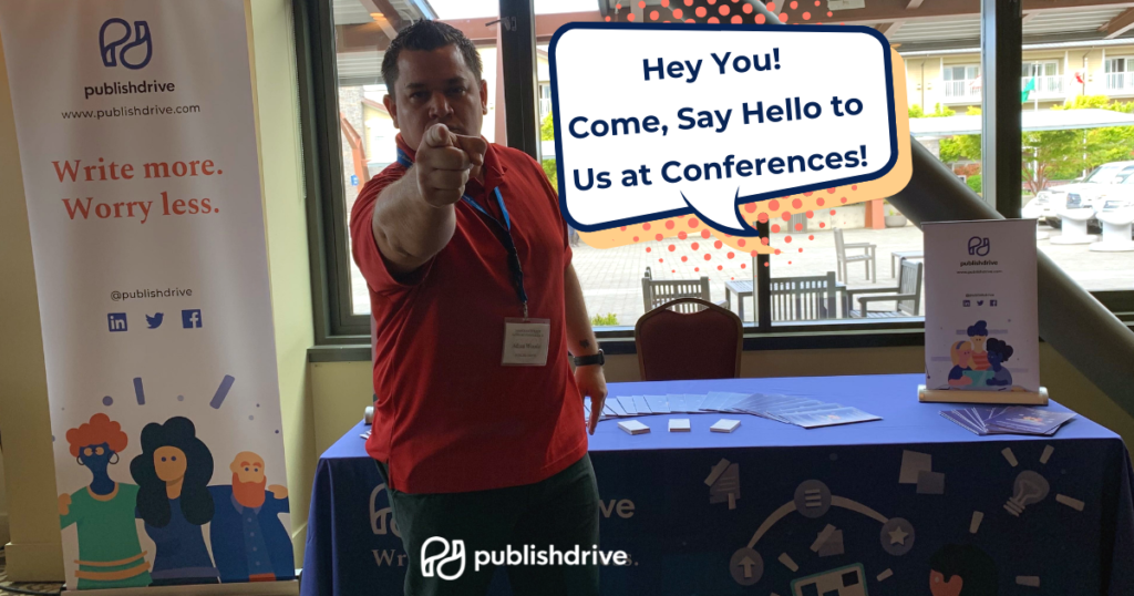 Meet the PublishDrive team at Writing Conferences 2019