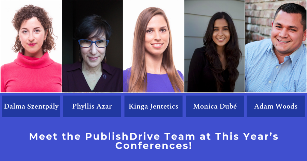 PublishDrive Writing Conferences 2019