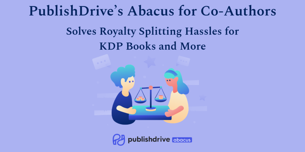 PD Abacus for Co-Authors - co-author royalty splitting for KDP books
